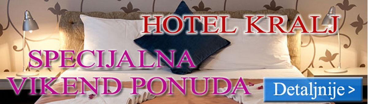 Specijalna ponuda  u Hotelu Kralj - Vrnjačka Banja